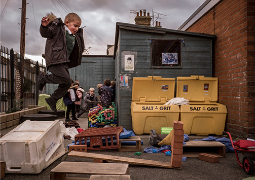'Bringing in Risk' to Build Resilience in Britain's Playgrounds