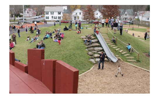 Woodstock Elementary School Wins Vermont Public Places Award